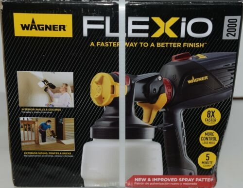 Wagner 0529086 Indoor Outdoor Paint Sprayer FLEXio 2000 New in Box