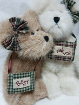 Boyd's  The Head Bean Collection Best  Friends  6 Inch Bears  New With Tags - $15.10