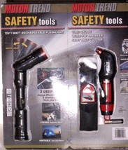 NEW Motor Trend Safety Tools Set Flashlight Tire Gauge Auto Emergency Ki... - $10.89