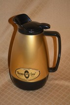 Vintage Westbend THERMO SERV Insulated Dbl Wall Serving Pitcher 1 qt. go... - $9.69