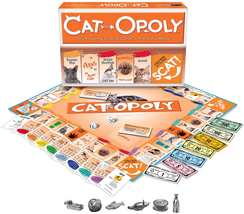 Late for the Sky CAT-opoly Board Game Family Fun Activity Toy 2-6 Player... - $32.08