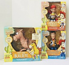 Disney Pixar TOY STORY SIGNATURE COLLECTION Woody Jessie Bullseye Dolls NEW - $455.14