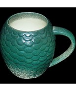 HBO Game of Thrones Rhaegal Daenarys Dragon Egg Coffee Mug Green Scales - $34.99