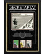 Ron Turcotte on Secretariat Triple Crown 1973, Ltd 73/173 - Facsimile Au... - $870.00