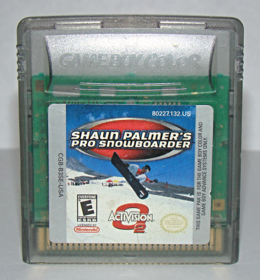 Primary image for Nintendo GAME BOY COLOR - SHAUN PALMER'S PRO SNOWBOARDER (Game Only)