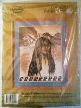 Something Special Counted Cross Stitch Kit Indian Maiden by Candamar design - $12.00