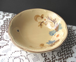 "Franciscan Bouquet (Tan Background) 6"" Coupe Cereal Bowls - Eight (8) Av... - $5.99"