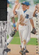 1994 Upper Deck Minors Tony Graffagnino #166 Baseball Card Durham Bulls ... - $1.19