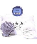 Bath & Body Works 3-Wick Candle Magnet Ocean Scentportable & Opal Tone H... - $20.79