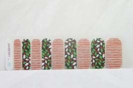 Jamberry Nail Wrap 1/2 Sheet (new) JOLLY HOLLY - $8.60