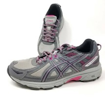 Asics Gel Venture 6 Womens Running Shoes Gray Lace Up Sneakers T7G7N D 8... - $27.55