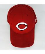 New Era Cincinnati Reds Cap Embroidered C Baseball Hat Adjustable Back  - $24.74