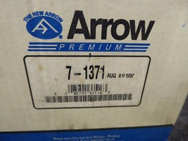 Ford Case Water Pump Remanufactured By Arrow P/N 7-1371, E8SZ-8501-A image 2