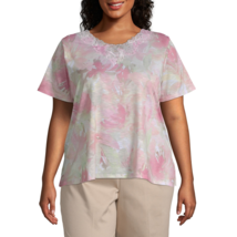 Society Page Alfred Dunner Allover Floral Top - Plus Size 3X New Msrp $5... - $21.99