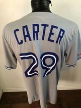 MENS XL MLB Baseball Jersey Toronto Blue Jays #29 Joe Carter Stadium Giv... - $27.71
