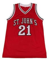 Walter Berry St John's Basketball Jersey Sewn Red Any Size image 1