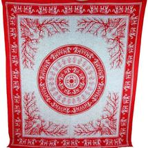 Red Tigers & Elephants Majestic Beasts Tapestry - $39.99