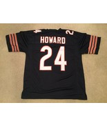 Men's Unsigned Custom Sewn Stitched Jordan Howard Blue Jersey - Any Size - $39.99