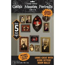 Gothic Haunted Mansion Scene Setters Add-ons Portraits Wall Decoration K... - $6.99