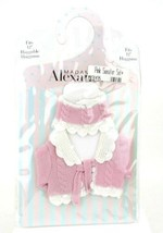 """Madame Alexander Classic Cable Sweater Set Pink Fits 12"""" Baby Doll Huggums - $18.56"""