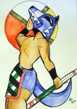 """Original Drawing """"kachina doll series"""" watercolor wall art no frame sign... - $21.78"""