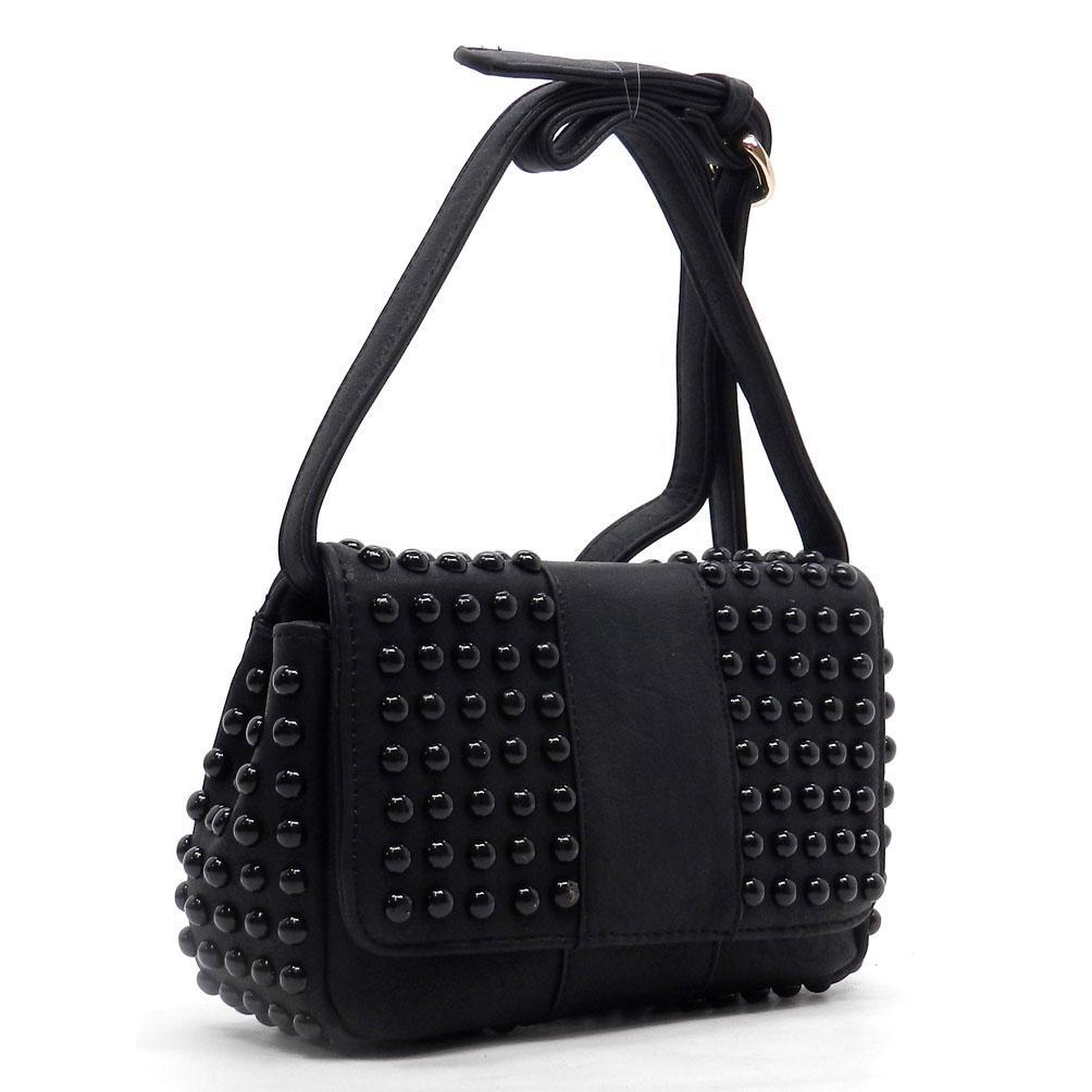 Messenger Style Cross Body Handbag Purse 4 Colors