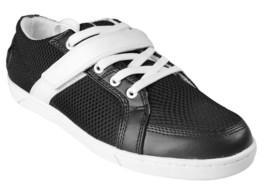 Heyday Super Cambio Basso Nero e Bianco Croce Fit Scarpe Sneaker SSL1001 Nib