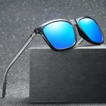 Aluminum Magnesium Polarized Men Sunglasses Mirror Square Sun Glasses Br... - $31.10+