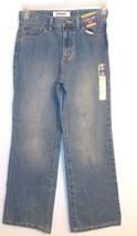 Cherokee Boys Bootcut Husky Blue Jeans Adjustable Waist Size 12H NWT - $10.49