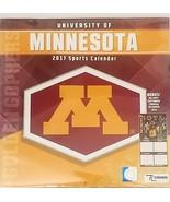 University of Minnesota Golden Gophers 2017 Sports Calendar Free Shipping - $16.82