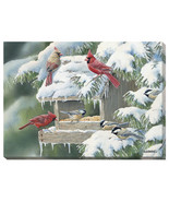 Winter Banquet Wrapped Canvas by Susan Bourdet - $54.95