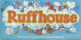 RUFFHOUSE Board Game by Parker Brothers - Vtg 80s Family Game - $17.81