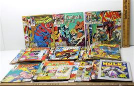 75+ Marvel Comic Lot X-Men Fantastic Four Spiderman Ironman Cap America ... - $33.64