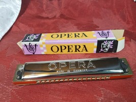VINTAGE 50'S Opera Harmonica - Made in Germany in Original Box