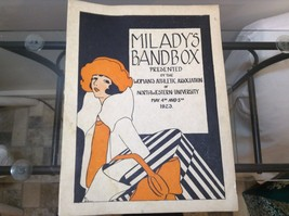 Milady's Bandbox Vintage Musicbook w Piano Sheet Music