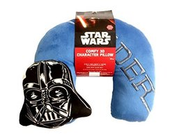 Star Wars Darth Embroidered Neck Pillow - $11.99