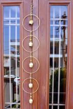 Handmade Wind Chime Bells Indoor Outdoor Patio Garden Decor String Decor... - $14.85
