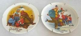 CSATARI Grandparent Plate 1980 1981 Hangers Knowles Bedtime Story Skatin... - $24.70