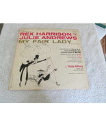Rex Harrison And Julie Andrews My Fair Lady Record Album - $5.00