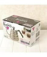 Hario V60 Buono Coffee Drip Kettle 1.2L VKB-120HSV HARIO From Japan - $44.54