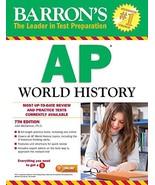 Barron's AP World History, 7th Edition - $45.28