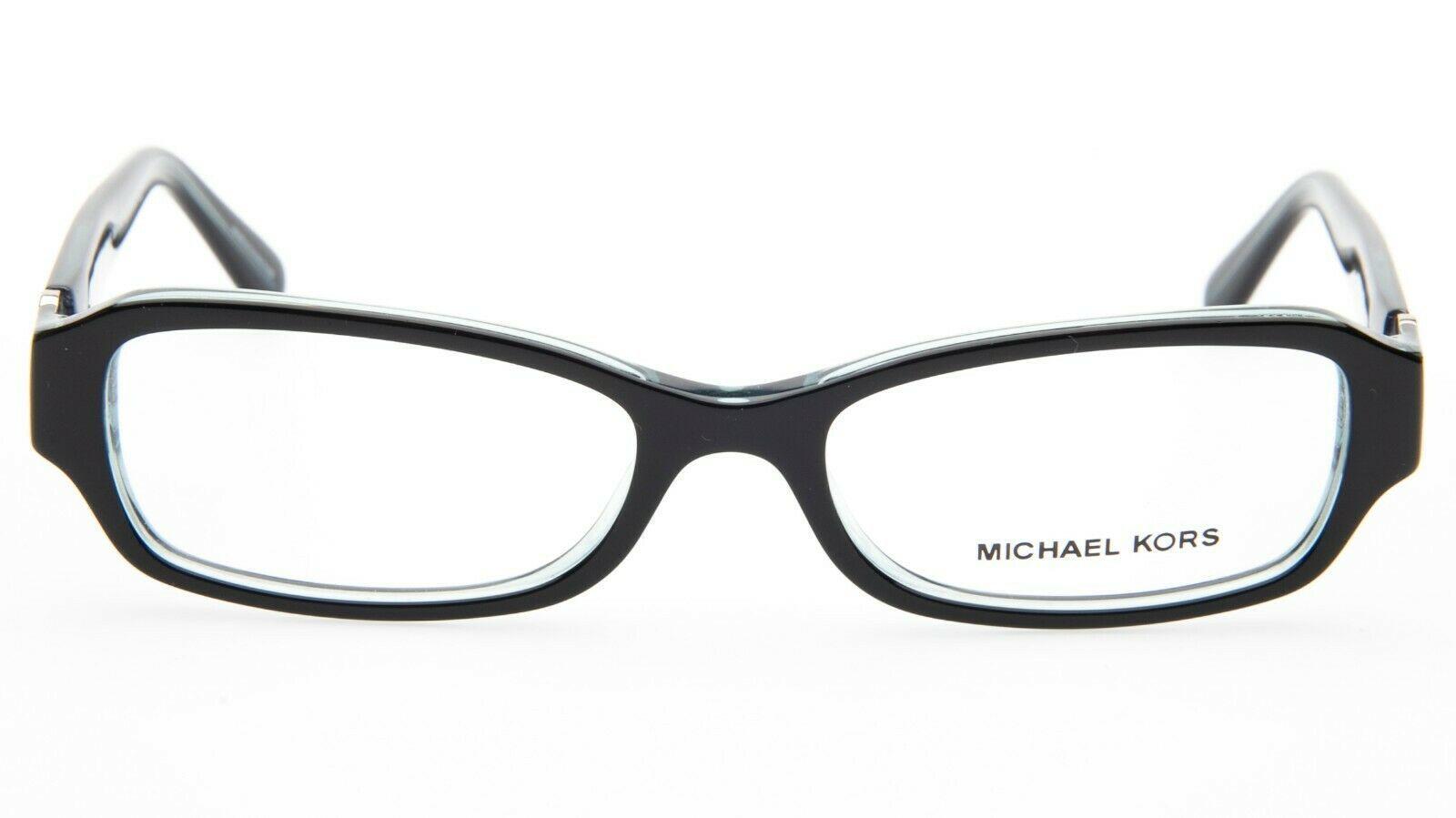 NEW MICHAEL KORS MK8002 Anguilla 3001 BLACK BLUE EYEGLASSES FRAME 50-16-135mm