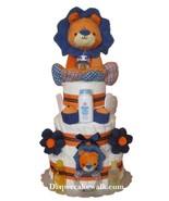 Baby Boy Safari - King Lion Diaper Cake - $160.00