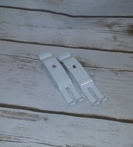 1 or 2 Bracket Corner Wht By Rubbermaid Mfr part number 3D64-Lo-Wht white - $4.75+