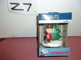 Peanuts Charlie Brown Let It Snow Christmas Tree Ornament  - $14.99