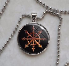 Choose Color Chaos Wheel Symbol Necklace - $14.00+