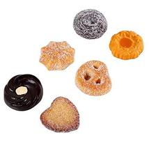 Cookies - 6 Pcs Artificial Cookie Fake Biscuits Food Display Props Party... - $34.19