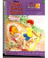 LeapFrog  -  Pooh Gets Stuck (Book Only) - $5.00