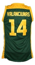 Jonas Valanciunas Lithuania Basketball Jersey New Sewn Green Any Size image 5