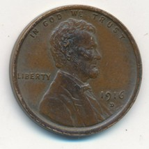 1916-D LINCOLN WHEAT CENT-VERY NICE LIGHTLY CIRCULATED CENT-SHIPS FREE!  - $24.95